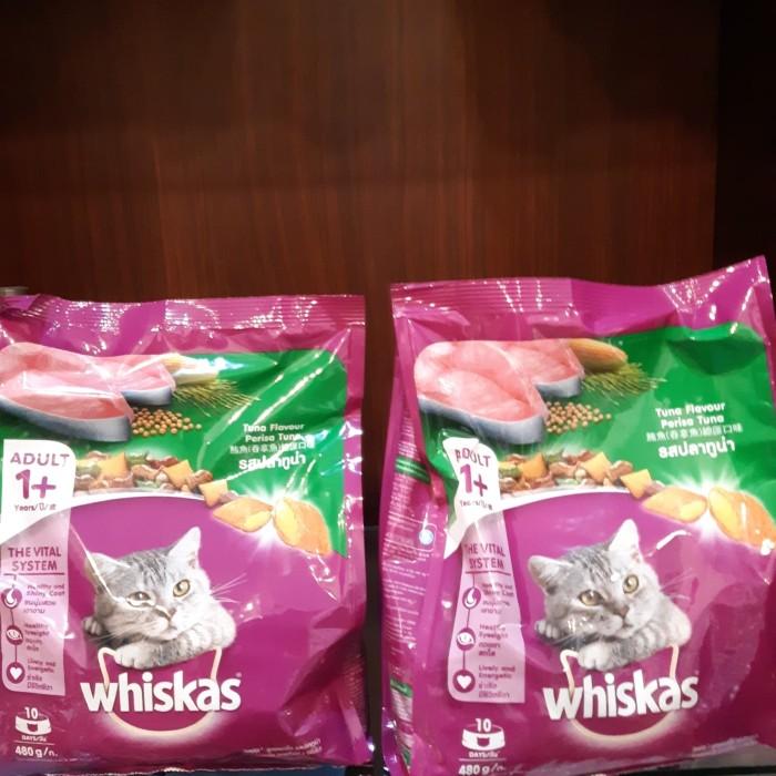 Whiskas 480gr Cat food Makanan Kucing Murah Medan Meo Proplan Bolt