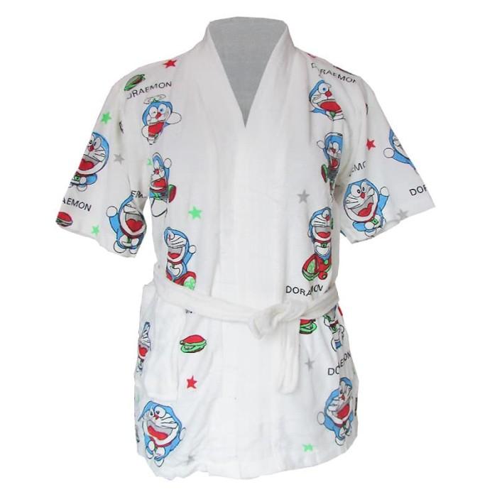 Handuk Kimono Karakter Doraemon HKK-014 (Ukuran Anak Tanggung)