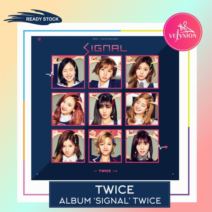 Jual Twice Signal 4th Mini Album - Jakarta Timur - VELYXION | Tokopedia
