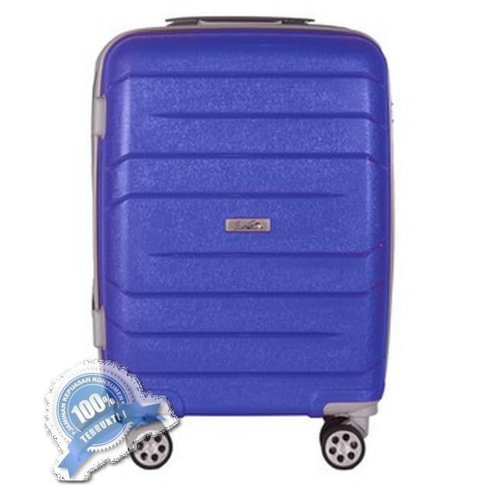 Termurah!! Arnold Palmer 08135 - Tas Koper Hardcase 20 inch Pearl Blue