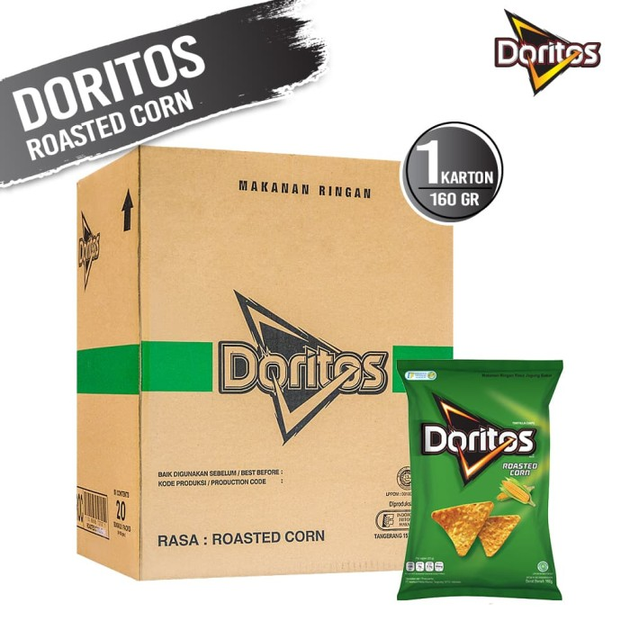 Doritos Roasted Corn 160 Gr - 20 Pcs [1 Carton] - Blanja.com
