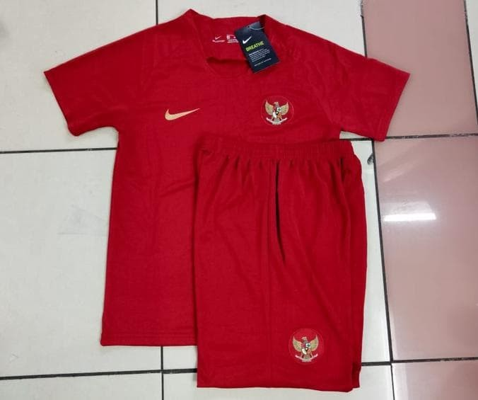 88 Contoh Baju Bola Indonesia Anak Kekinian