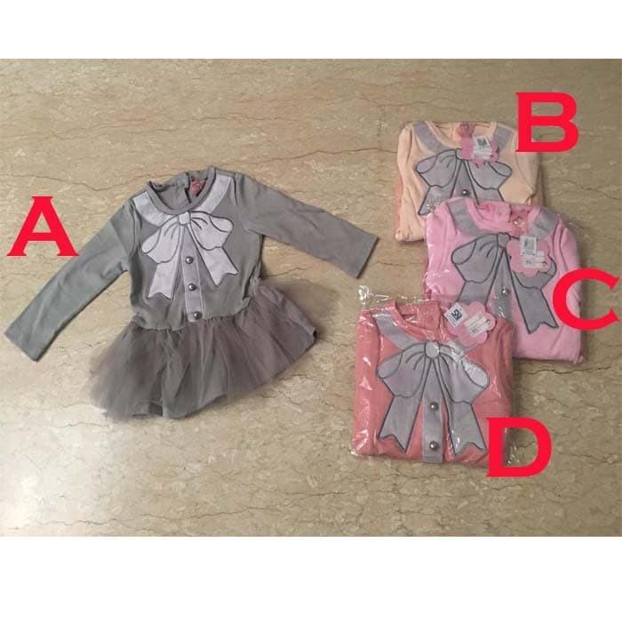 Jual Baju Bayi Perempuan Dress Gaun Pesta Bayi Baru Lahir Ri Murah