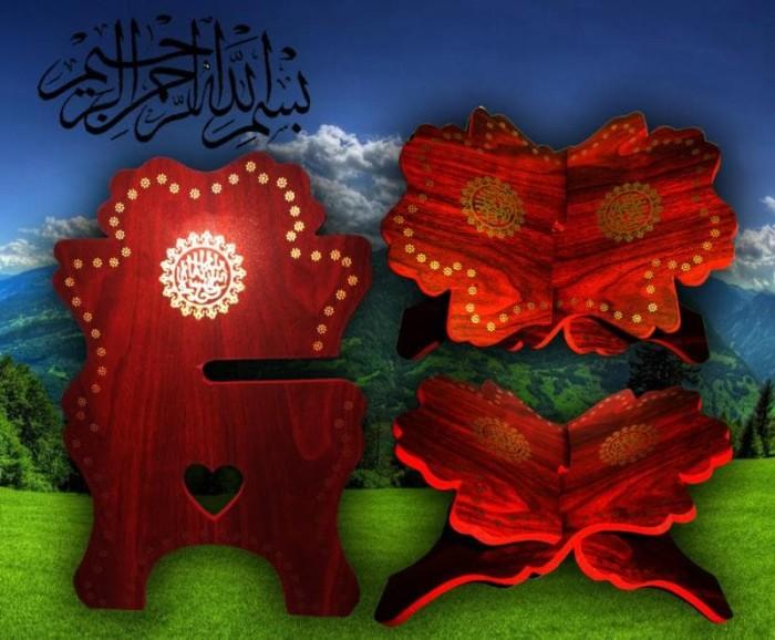 Cek Harga Tatakan Kayu Memasak Info Mau Murah Source · Meja Kayu AL Quran Tempat Baca Lipat Kayu Al Quran Untuk Baca Doa Shol