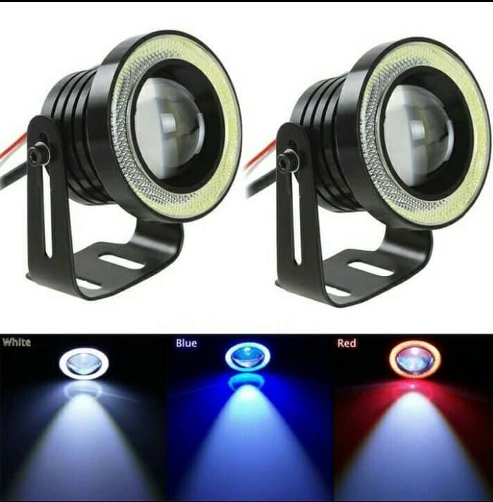 harga Foglamp led projector angel eyes 89 mm Tokopedia.com