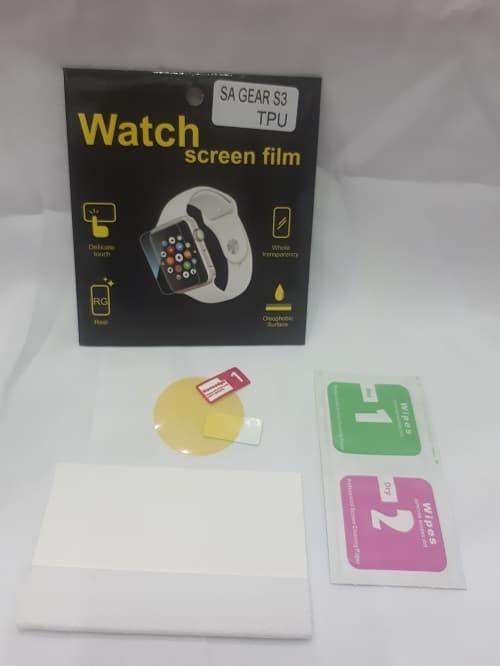 harga Screen guard 3d full cover nano anti shock for samsung gear s3 Tokopedia.com