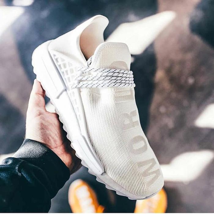 5ead92c84 Jual Adidas NMD Human Race Trail Holy White -