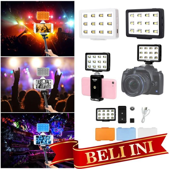 harga Mini led video light for handphone ipad tablet kamera dslr lampu foto Tokopedia.com