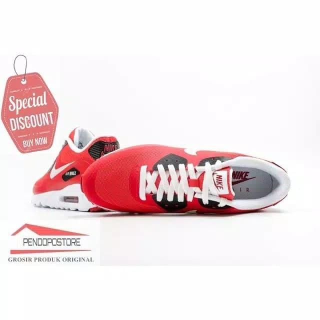 Jual Sepatu Nike Air Max 90 Ultra Essential 819474 600 Lari Sneakers Casual Kota Surabaya MELISAJENISHOES   Tokopedia
