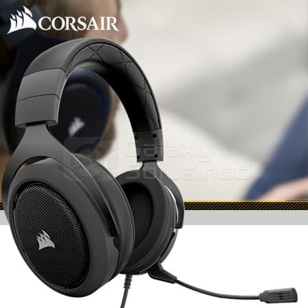 Jual Corsair HS60 Surround Gaming Headset + USB Adapter 7 1 - Kota Malang -  GASOL | Tokopedia