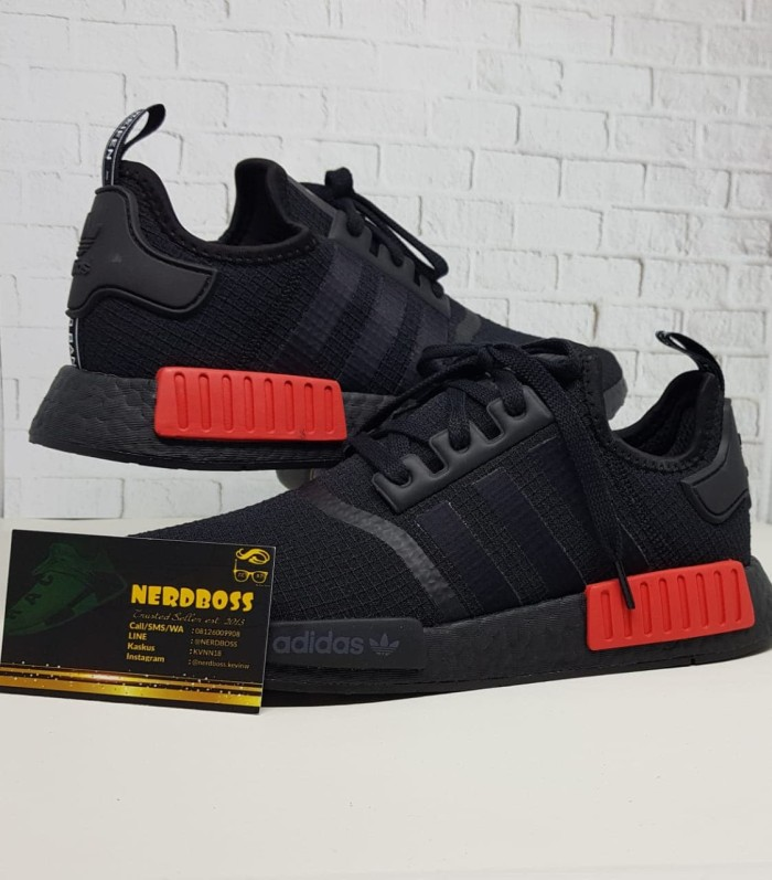 more photos 2e4ba 4e9c9 Jual Adidas NMD R1 Black Lush Red 100% ORIGINAL, ANTI FAKE Idiot Price!! :)  - Kota Palembang - Kevin Winata | Tokopedia