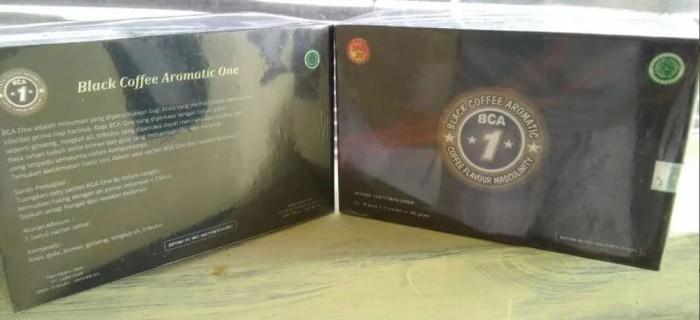 Black Coffee Aromatic One 1 Paket Isi 2 Box