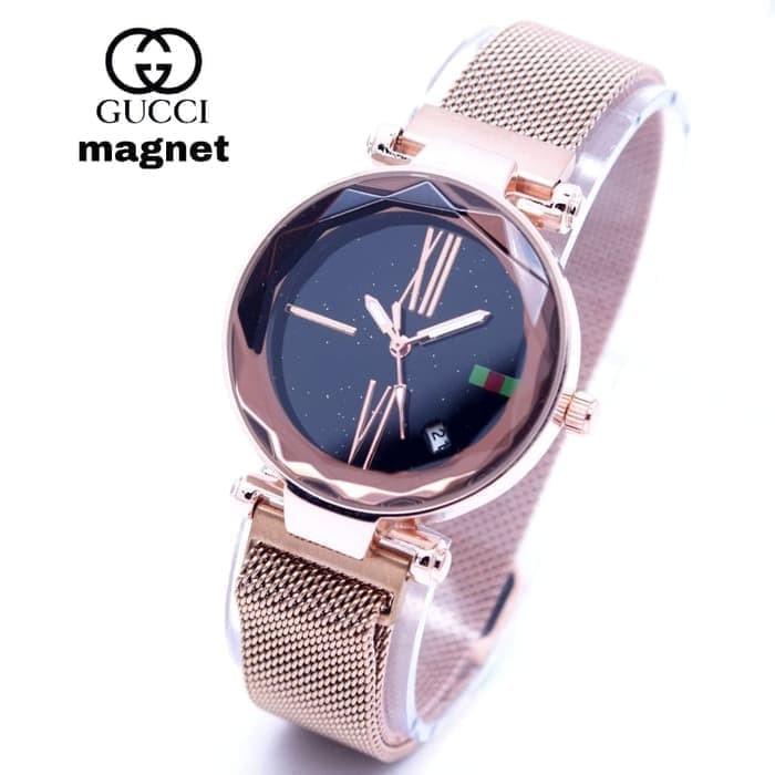 Jam Tangan Wanita GUCCI MAGNET ( ROSE GOLD )