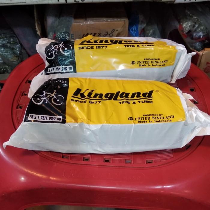 Foto Produk 26 x 1.75/1.90/2.00 Ban Dalam Sepeda United Kingland , American Valve dari Sekawan Sepeda