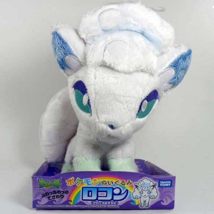 harga Boneka plush doll takara tomy pokemon alola vulpix - ori takaratomy Tokopedia.com
