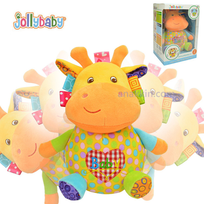 Jolly Baby Happy Tumbler Soft Toy / mainan anak / mainan bayi murah