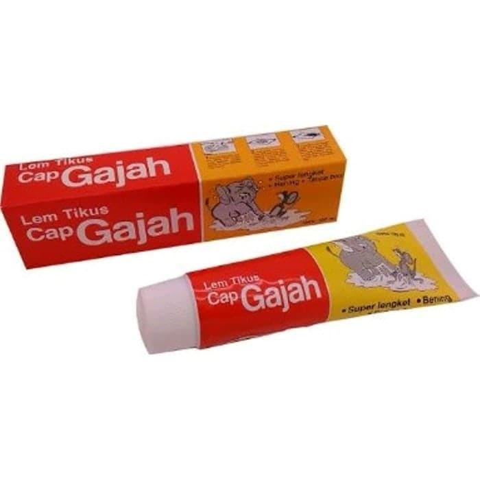 Lem Tikus Tube [100 mL] Cap Gajah