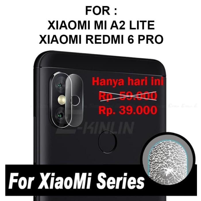 CAMERA TEMPERED GLASS Xiaomi Mi A2 Lite Redmi 6 Pro anti gores lensa
