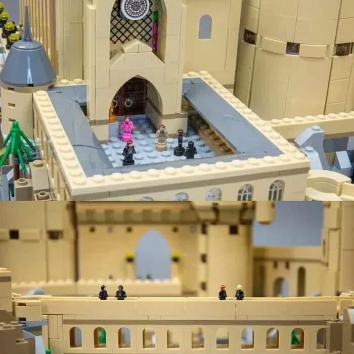 Jual Lepin 10060 Harry Potter Hogwarts Castle Compatible Lego 71043