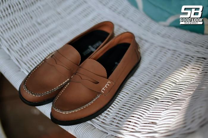 4180e40dcc7 Jual Sepatu Formal Pantofel Loafer Pria Paradise Brown - Cokelat ...
