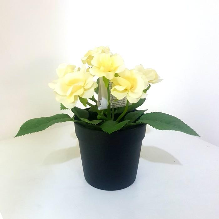 Jual Bunga Plastik Artificial Flower IKEA FEJKA YELLOW - Di Mobile ... d2f17864e1