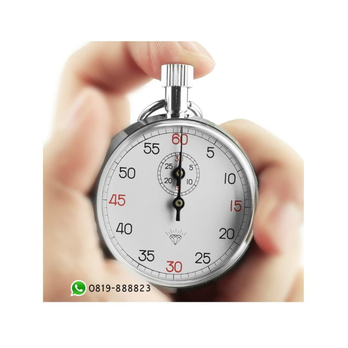 harga Stopwatch timer diamond 505 mechanical analog 1 button Tokopedia.com