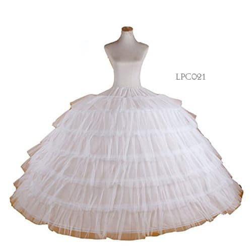 harga Rok pengembang gaun pengantin super ballgown- petticoat wedding lpc21 Tokopedia.com