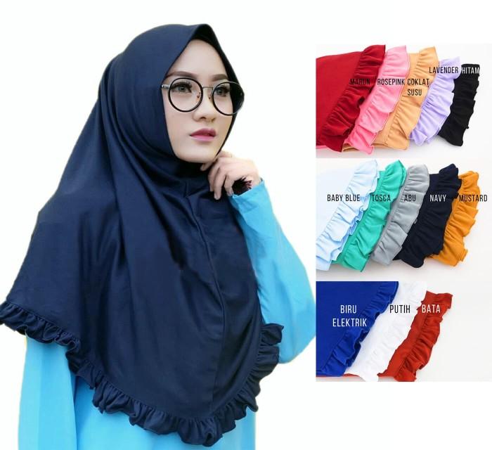 harga hijab kerudung rempel instan najwa rempel jilbab murah grosir ecer Tokopedia.com