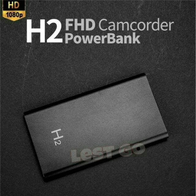 harga Powerbank H2 Spy Camera Hidden Night Vision 1080p Hd 5000mah - Adhesi Blanja.com