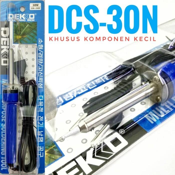 harga Dekko dcs-30n solder 30watt solder khusus komponen kecil hape kabel Tokopedia.com
