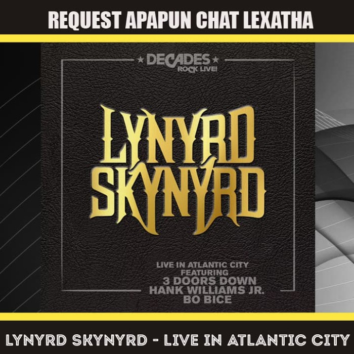 Jual Lynyrd Skynyrd - Live In Atlantic City BLURAY DISC RIP 14GB - 1080p -  Kab  Banyumas - lexatha | Tokopedia