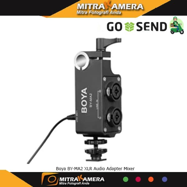 harga Boya By - Ma2 Xlr Audio Adapter Mixer Blanja.com