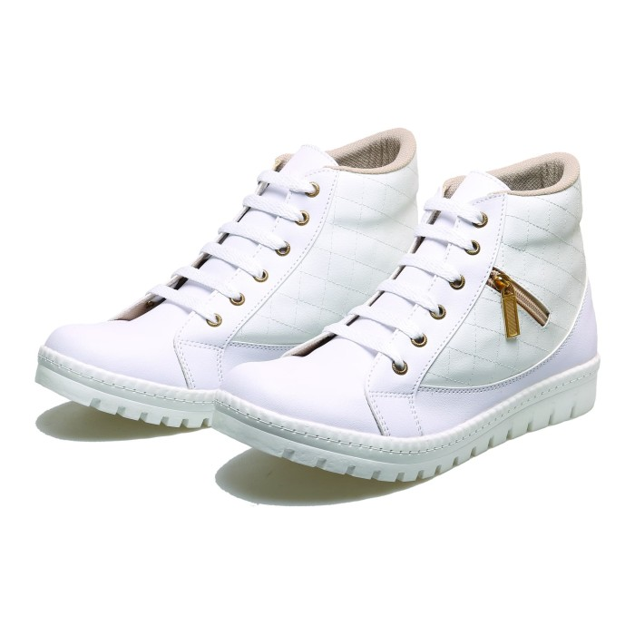 Sepatu Boots Wanita Elegan BM8 Sepatu Pesta Cewek - Sepatu Boot Trendy