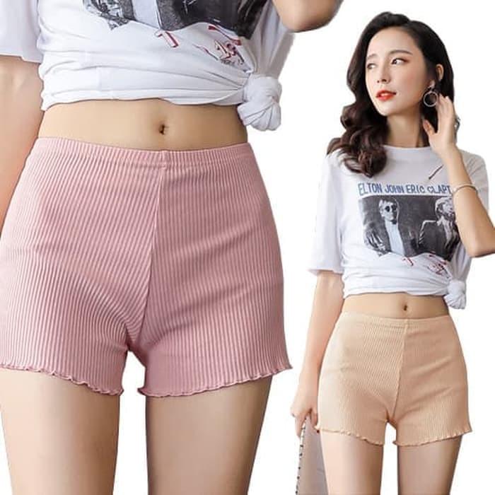Jual Celana Legging Pendek Korea Celana Dalam Pendek Cewek Cotton Impor Jakarta Pusat Korean Modis Tokopedia