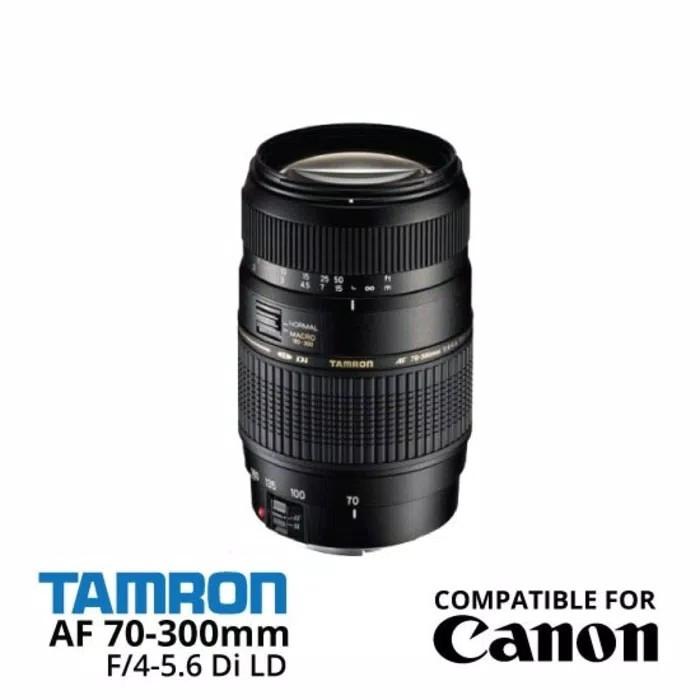 harga Lensa tamron 70-300mm f 4-5.6 for canon Tokopedia.com