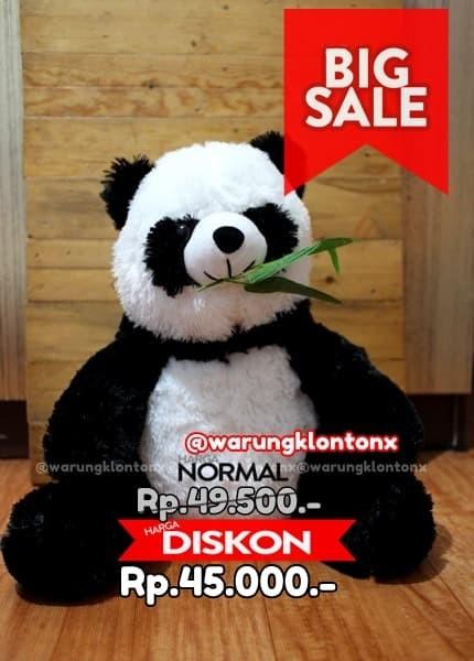 Jual Boneka Panda Size L 40cm Lebih Besar Lucu Berkualitas ... 00abd2481b