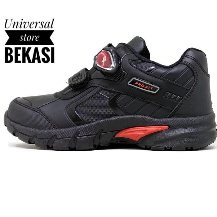 harga Sepatu sekolah anak lelaki laki-laki pro att pmb 467 v magnet sd tk Tokopedia.com