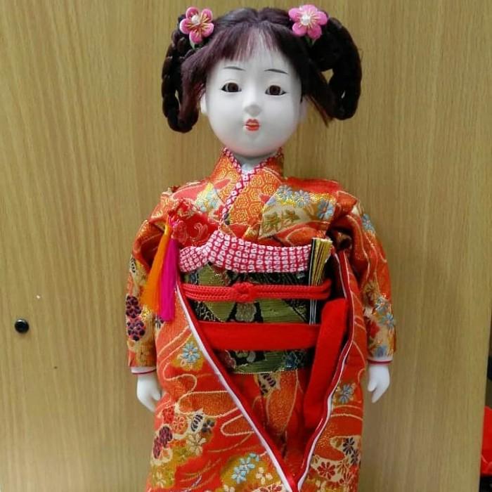 boneka geisha boneka oshin boneka jepang boneka kokeshi pajangan doll 5f7256f5ec