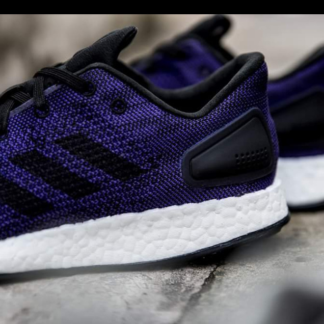 a677add74 Jual Adidas Pure Boost Pureboost DPR Dark Purple White BNIB Original ...