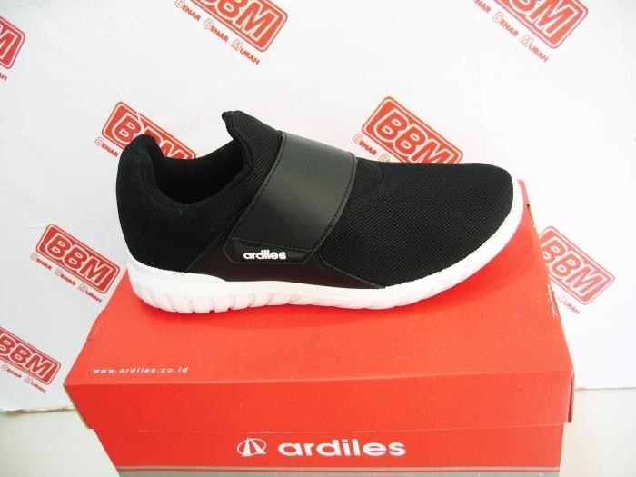 Ardiles chow-chow - sepatu wanita sneaker kerja santai - hitam putih 66cc42a377
