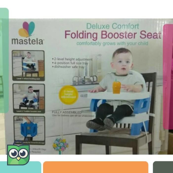 PROMO 9.9 KURSI MAKAN BAYI PLIKO FOLDING BOOSTER - MASTELA Folding