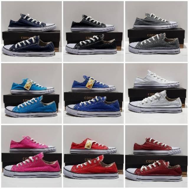 Jual sepatu convers - Biru 9c91bcf043