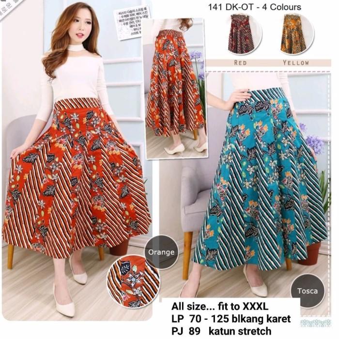Jual Top Model Rok Panjang Batik Rok Batik Hijab Rok Batik Lebar Rok Batik Jakarta Selatan Jeju Online Tokopedia
