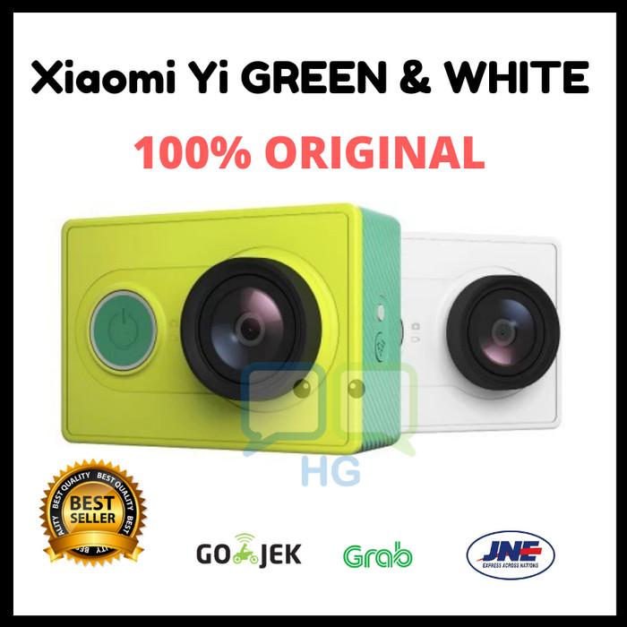 Xiaomi Yi Action Camera Basic Edition BNIB - Hijau Tosca Harga Rp