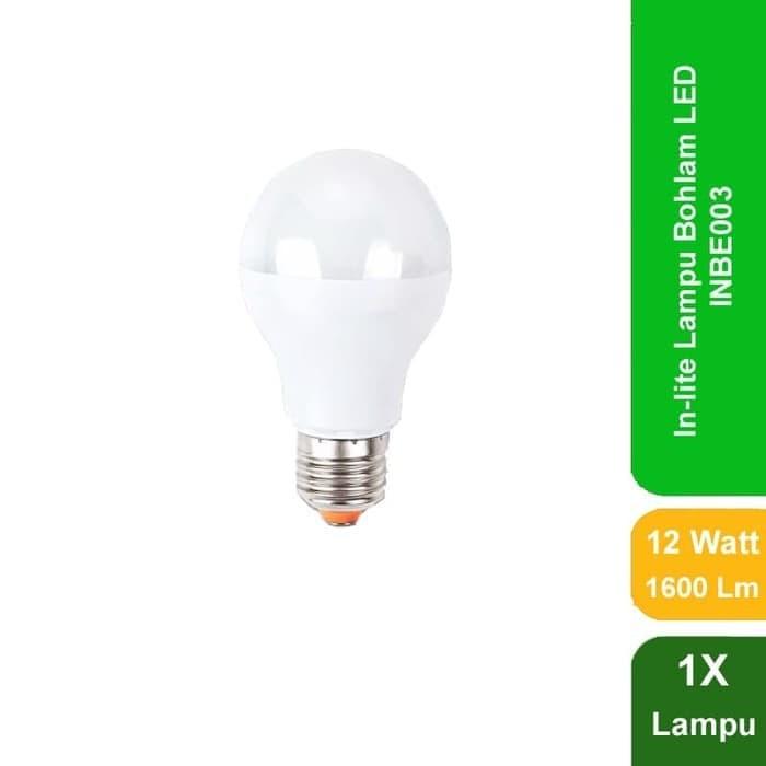 Lampu IN LITE LED Bulb Emergency INBE003 12W