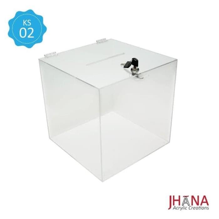 Jual KOTAK SARAN AKRILIK - Box Acrylic - Sugestion Box ...