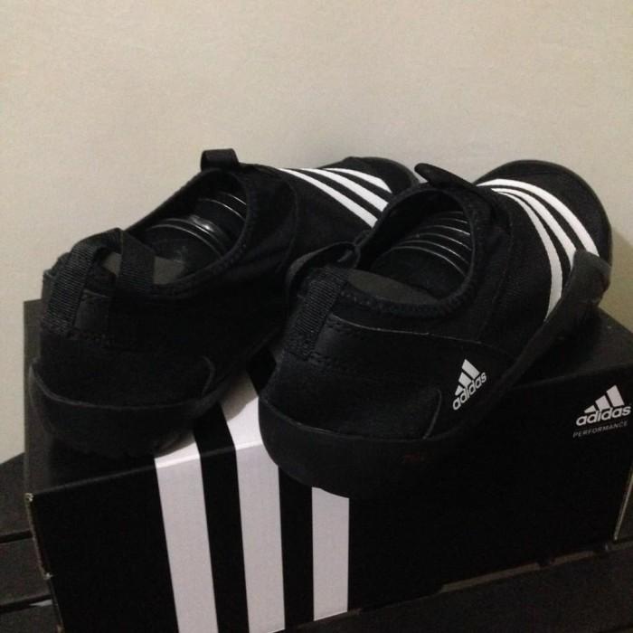 SALE Sepatu Outdoor Adidas Climacool Jawpaw Slip On Black White M29553 c4275309aa