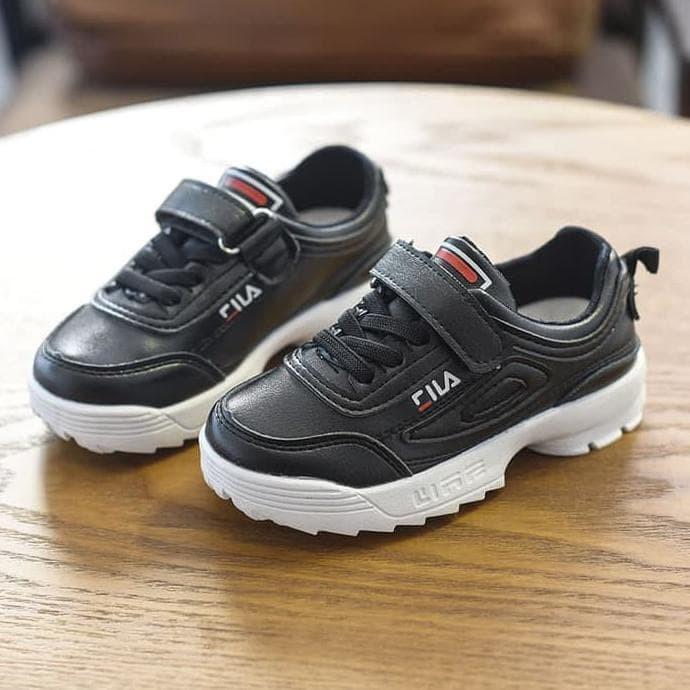 Jual Sepatu Kets Sneakers Anak Fila Disruptor Lookalike ... 7a67179369