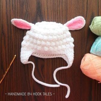 Topi Bayi Rajut 0-3 bulan