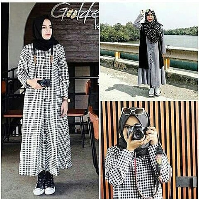 Jual Breefa Dress Baju Muslim Wanita Gamis Remaja Jakarta Pusat Gamisku Olshop Tokopedia